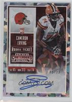 Rookie Ticket - Cameron Erving (Team Logo) /23