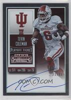 Rookie Ticket RPS - Tevin Coleman (College) /49