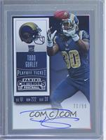 Rookie Ticket RPS - Todd Gurley (Base) /99