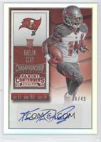 Rookie Ticket - Kaelin Clay (Team Logo) /49