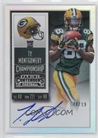 Rookie Ticket RPS - Ty Montgomery (Base) /99
