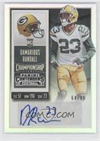 Rookie Ticket - Damarious Randall /99