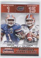 Percy Harvin, Tim Tebow