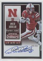 Rookie Ticket RPS - Ameer Abdullah (College) /99