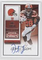 Rookie Ticket RPS - Duke Johnson (Team Logo)
