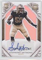 Rookie Signatures - Stephone Anthony /10