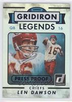 Gridiron Legends - Len Dawson /99