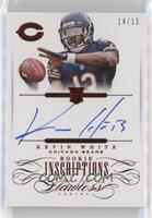 Kevin White #14/15