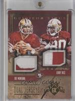 Jerry Rice, Joe Montana /10
