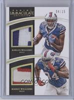 Karlos Williams, Mario Williams /15