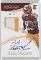 Rookie Patch Autographs - Jamison Crowder /25