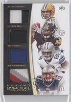 Aaron Rodgers, Dez Bryant, Le'Veon Bell, Rob Gronkowski /5