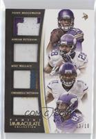 Adrian Peterson, Cordarrelle Patterson, Mike Wallace, Teddy Bridgewater /10