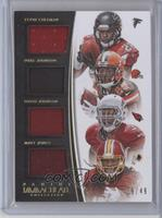 David Johnson, Duke Johnson, Matt Jones, Tevin Coleman /49