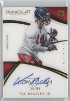 Rookie Autographs - Vic Beasley Jr. /99