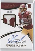 Rookie Patch Autographs - Jamison Crowder /99