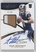 Rookie Patch Autographs - Sean Mannion #95/99
