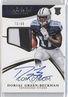 Rookie Patch Autographs - Dorial Green-Beckham /99