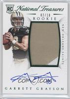 Rookie Autograph Patch (RPS Numbers) - Garrett Grayson /18