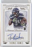 Rookie Signatures - Thomas Rawls /49