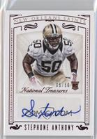 Rookie Signatures - Stephone Anthony /50