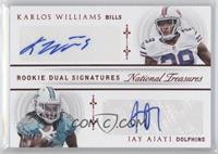 Jay Ajayi, Karlos Williams /25