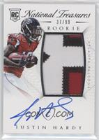 Rookie Autograph Patch (RPS) - Justin Hardy /99