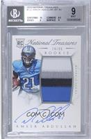 Rookie Autograph Patch (RPS) - Ameer Abdullah /99 [BGS 9]