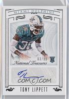 Rookie Signatures - Tony Lippett /99