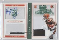Rookies Booklet - Vince Mayle /25