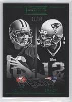 Joe Montana, Tom Brady /25
