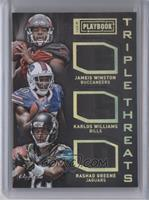 Jameis Winston, Karlos Williams, Rashad Greene /1