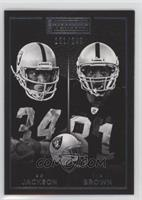 Bo Jackson, Tim Brown /299