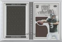 Rookie Booklet Silver - Bryce Petty /199