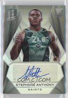 Rookie Autographs - Stephone Anthony /199