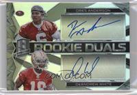 Rookie Dual Autographs - DeAndrew White, Dres Anderson /199