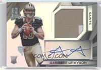 Rookie Patch Autographs - Garrett Grayson /75