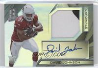 Rookie Patch Autographs - David Johnson /99