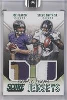Joe Flacco, Steve Smith /1 [ENCASED]