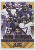 Teddy Bridgewater, Everson Griffen, Greg Jennings, Matt Asiata