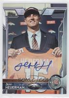 Rookie Autographs - Jeff Heuerman
