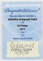 Earl Thomas [REDEMPTIONBeingRedeemed]