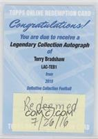 Terry Bradshaw [REDEMPTION Being Redeemed]