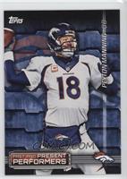 Peyton Manning, John Elway
