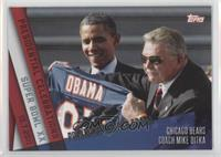 Barack Obama, Mike Ditka