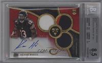 Rookie Autographed Triple Relics - Kevin White /15 [BGS8.5]