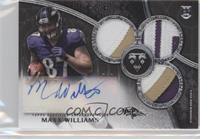 Rookie Autographed Triple Relics - Maxx Williams /1
