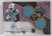 Rookie Autographed Triple Relics - Jay Ajayi /70