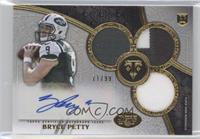 Rookie Autographed Triple Relics - Bryce Petty /99