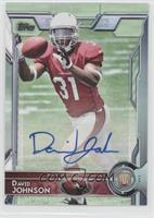 Rookie Autographs - David Johnson